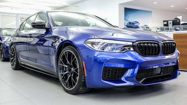 77 A 2019 BMW M5 Xdrive Awd Engine