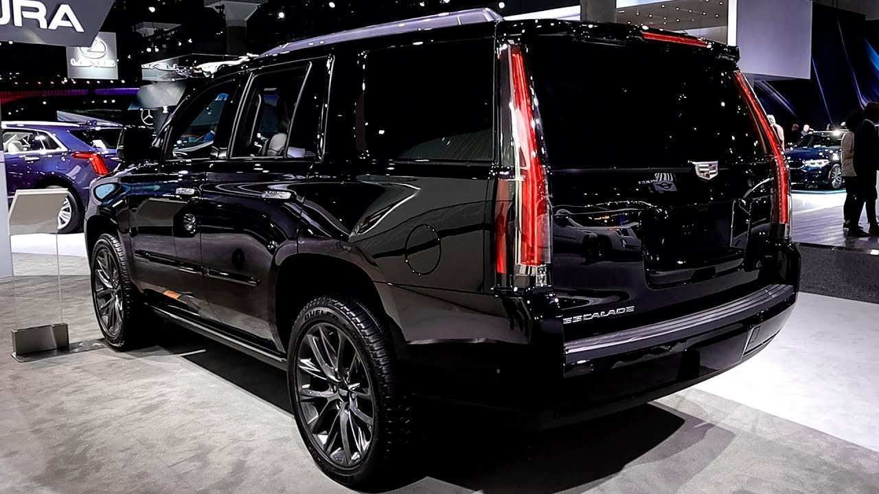77 A 2019 Cadillac Escalade Vsport Engine