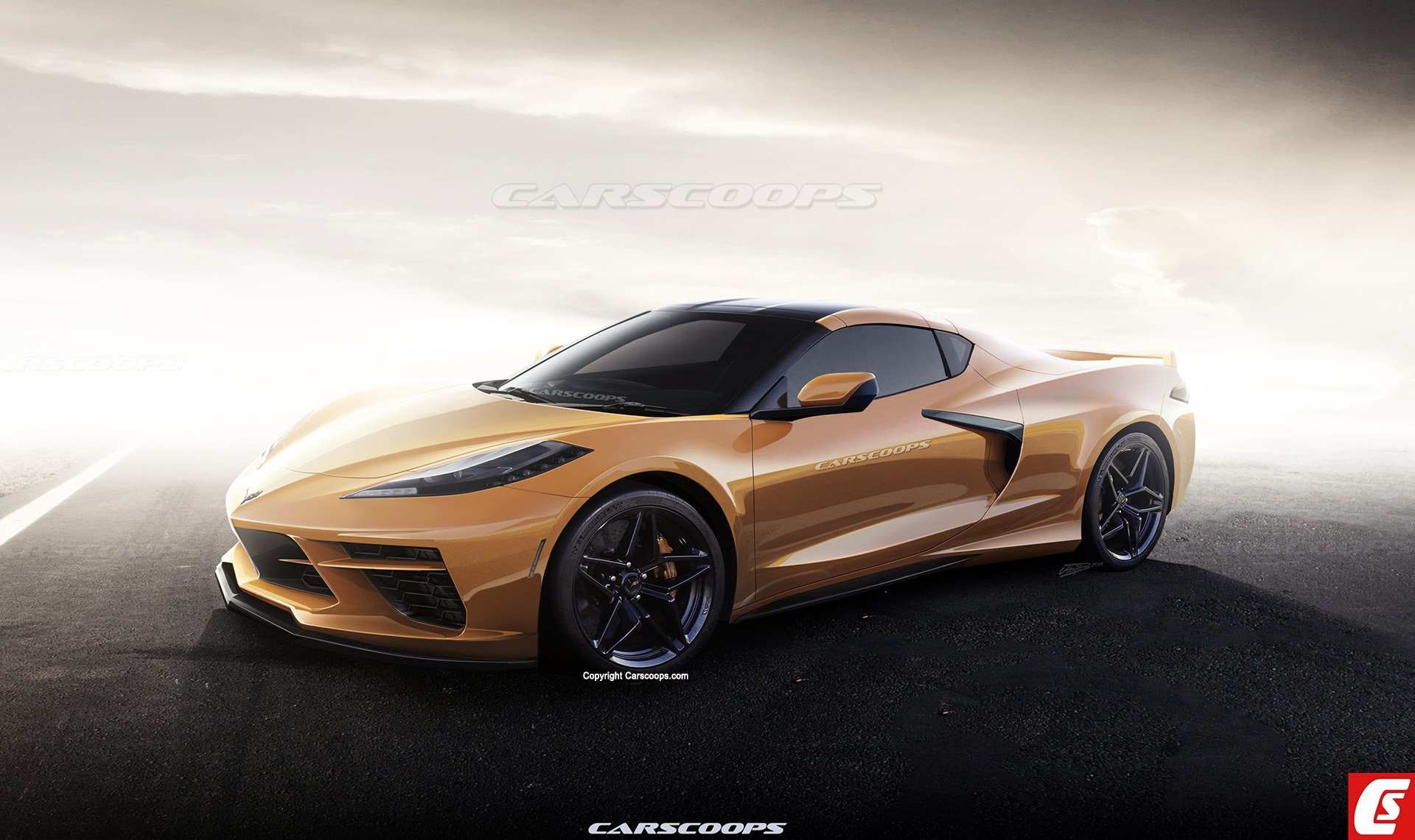 77 A 2020 Corvette Stingray Exterior