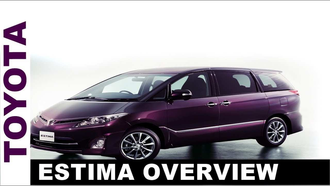 77 A Toyota Estima 2019 Specs And Review