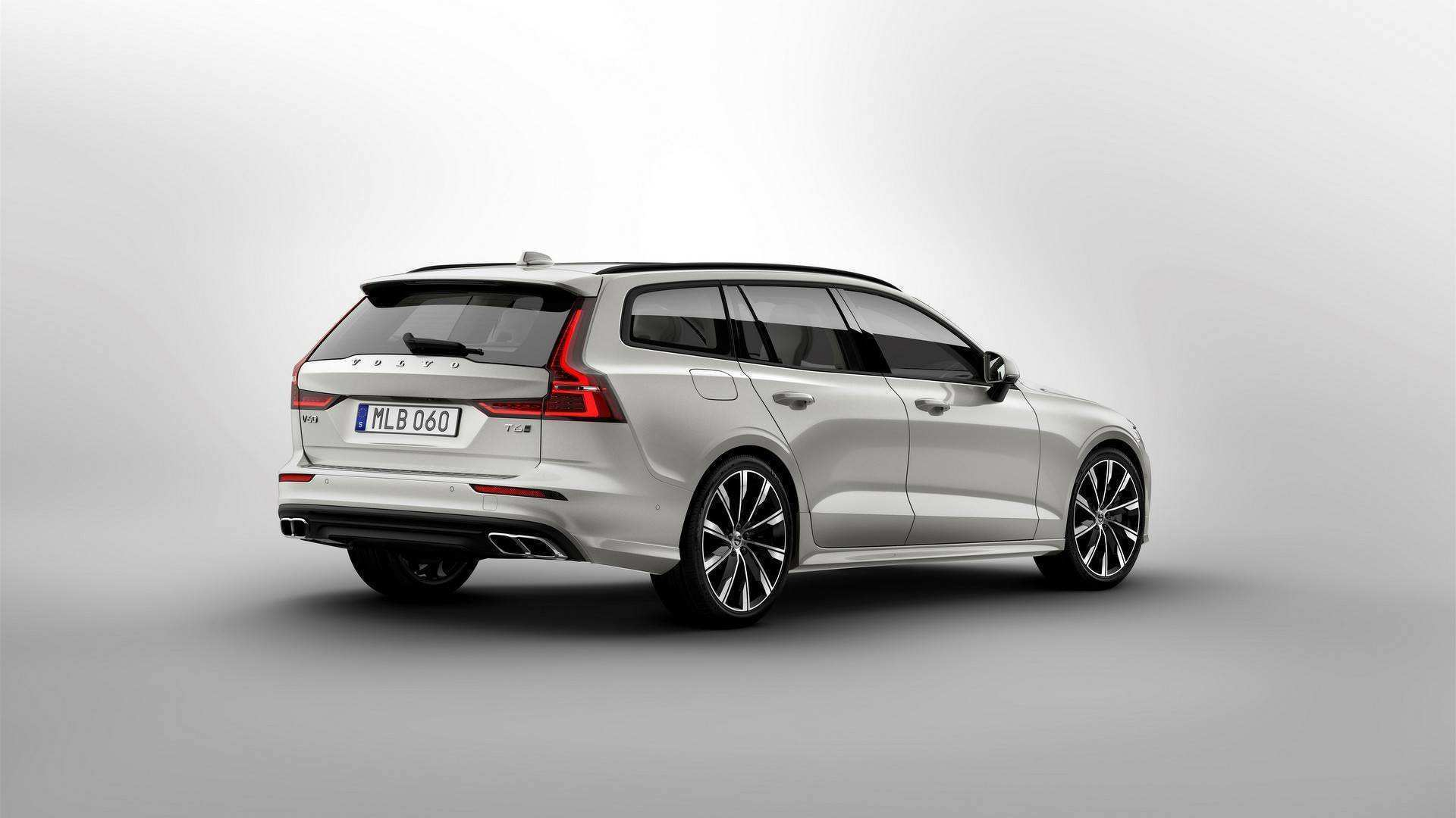 77 A Volvo V60 2019 Dimensions Wallpaper