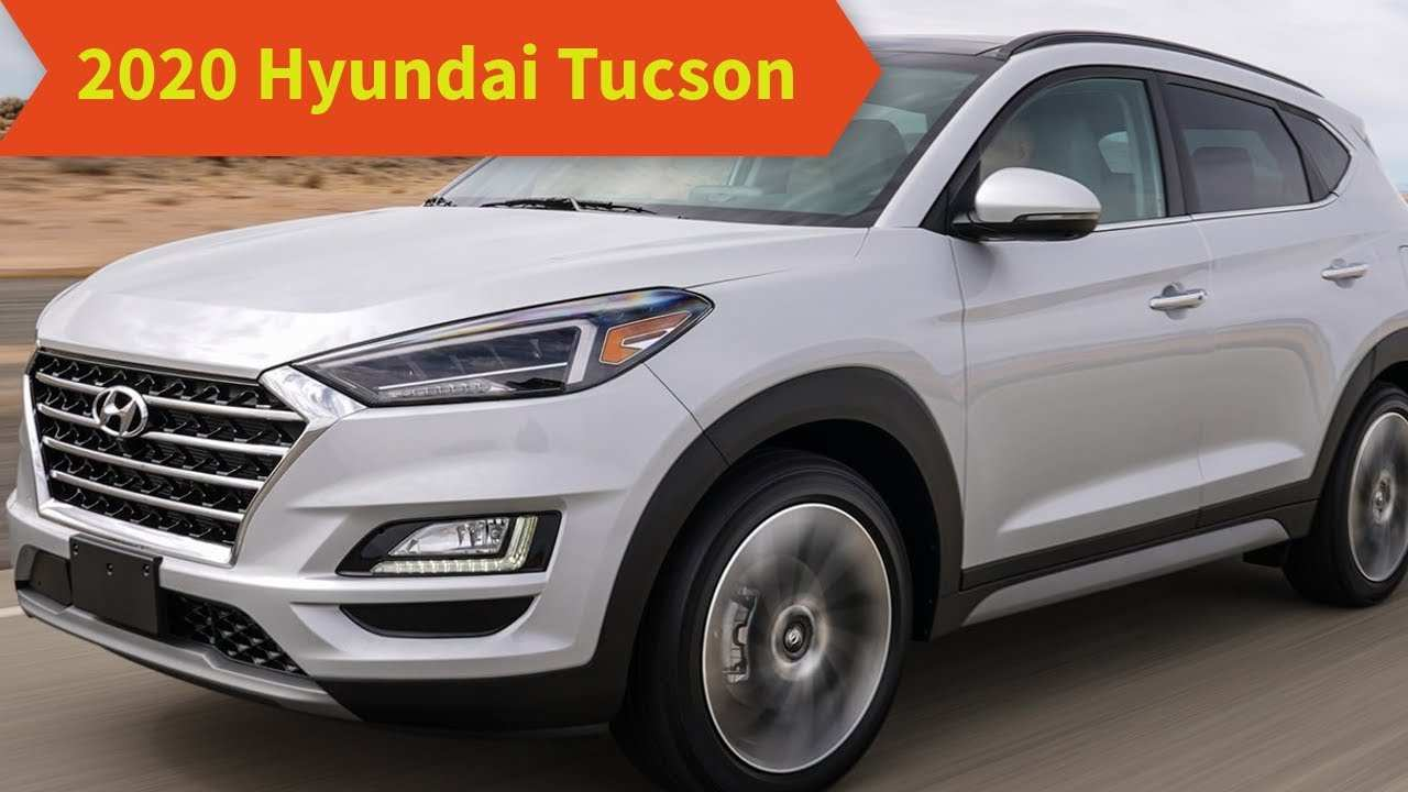 77 All New 2020 Hyundai Tucson Redesign Release Date And Concept