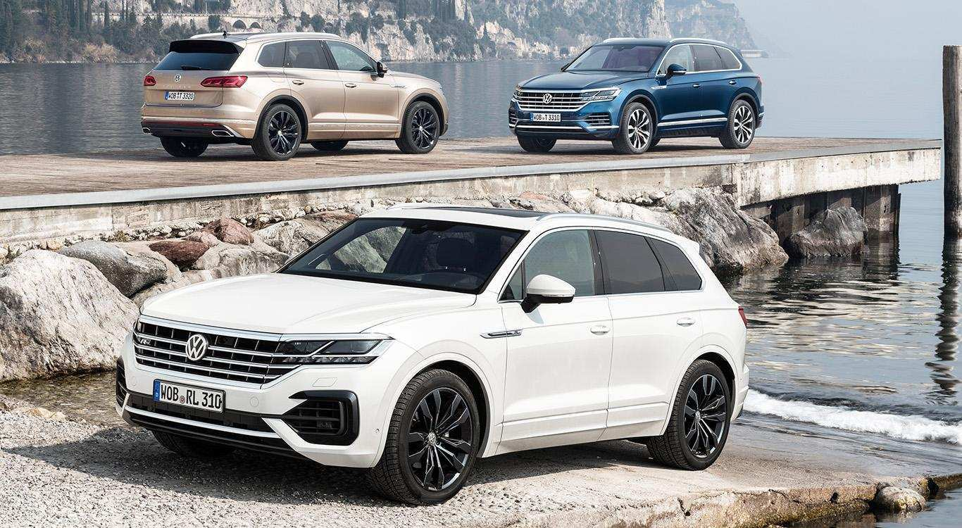 77 All New Touareg Vw 2019 Redesign And Review