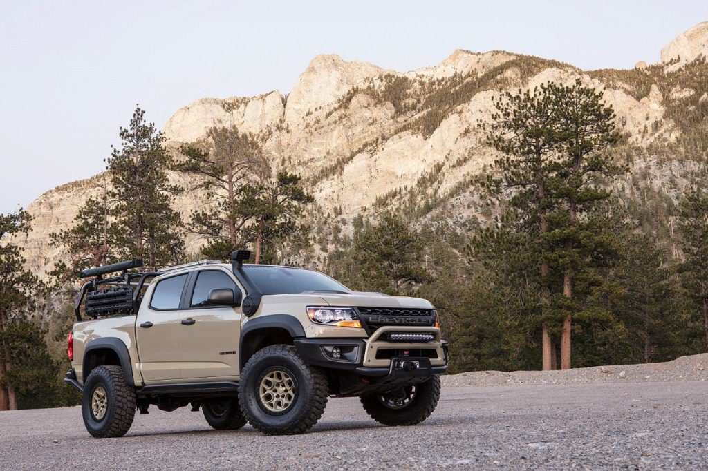 77 New 2020 Chevrolet Colorado Z72 New Model And Performance