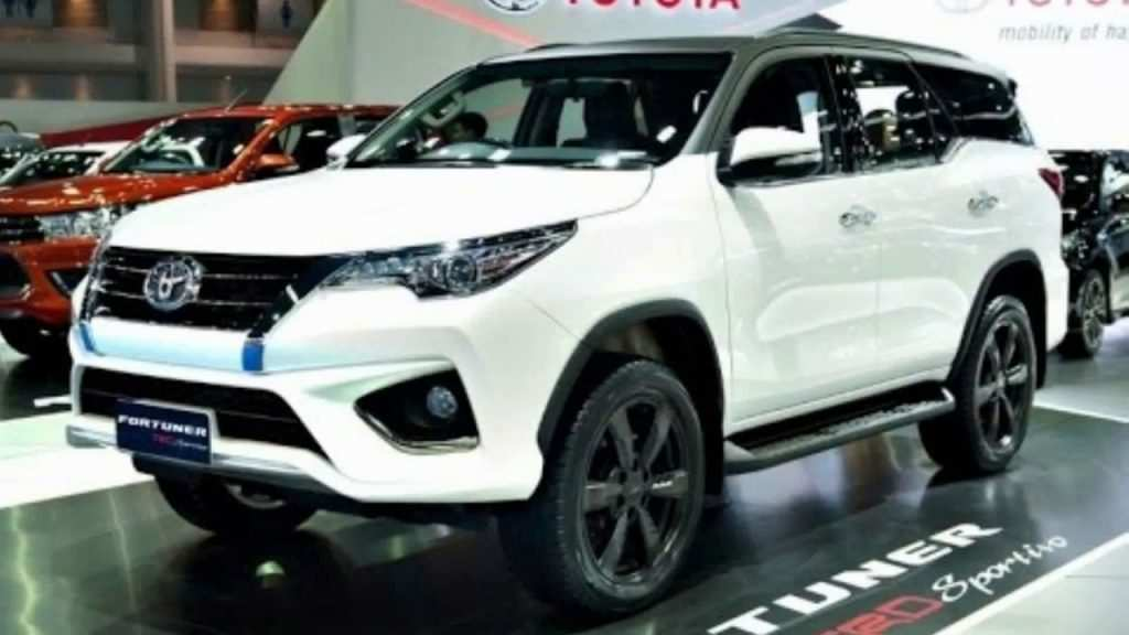 77 New Toyota Fortuner New Model 2020 Spy Shoot