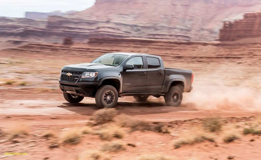 77 The 2019 Chevrolet Colorado Z72 Configurations