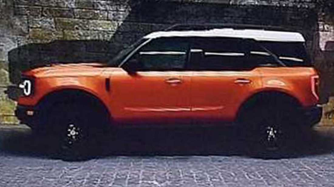 77 The 2020 Ford Bronco Model