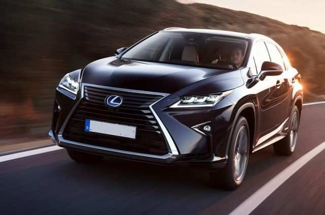 77 The 2020 Lexus RX 450h Configurations