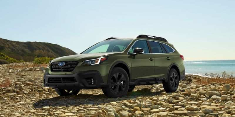 77 The 2020 Subaru Outback Ground Clearance Spy Shoot
