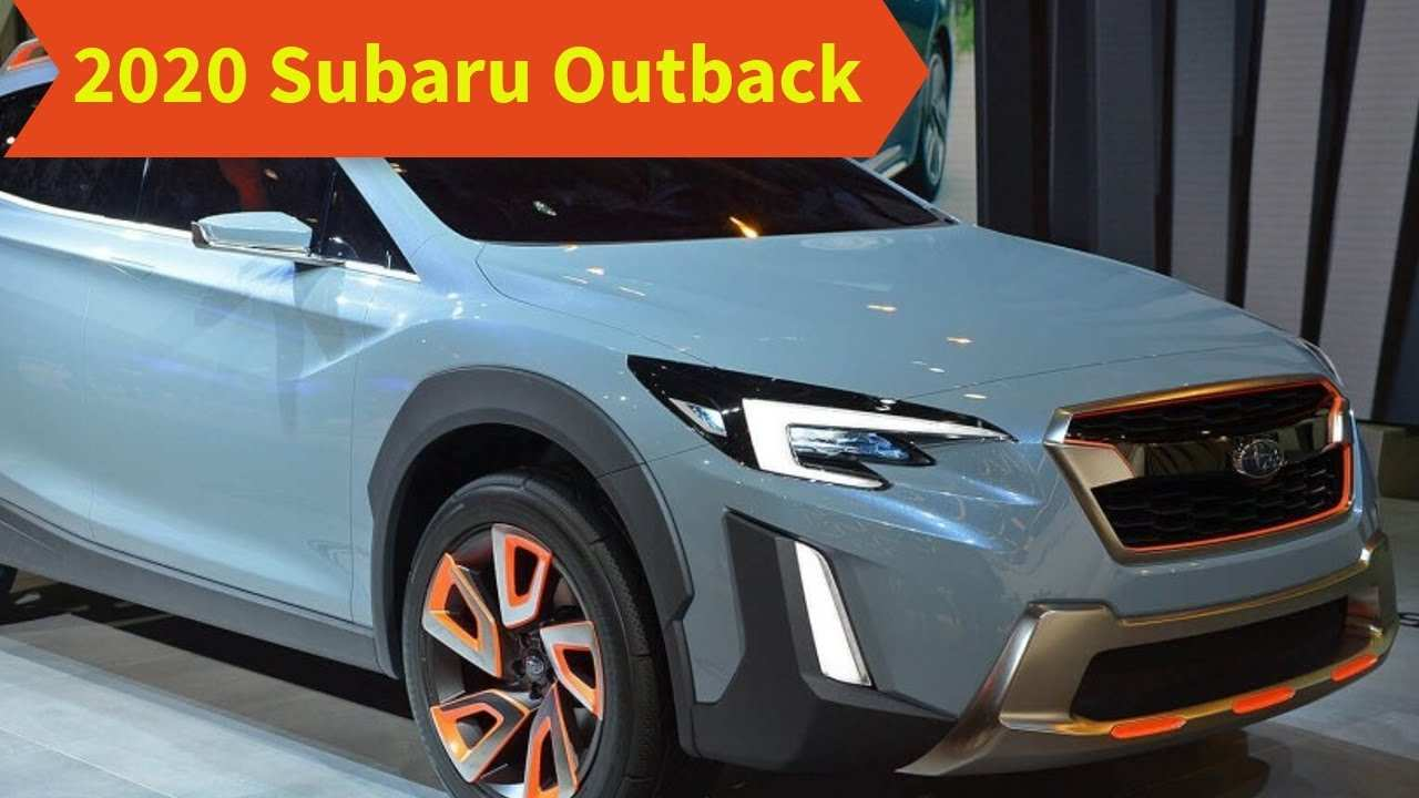 77 The 2020 Subaru Outback Release Date Redesign And Concept