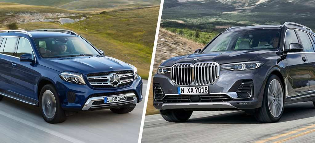 77 The BMW X7 Vs Mercedes Gls 2020 New Concept