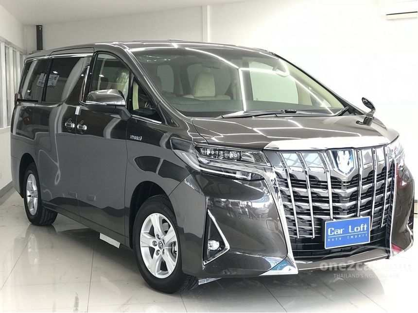 77 The Best 2019 Toyota Alphard Redesign
