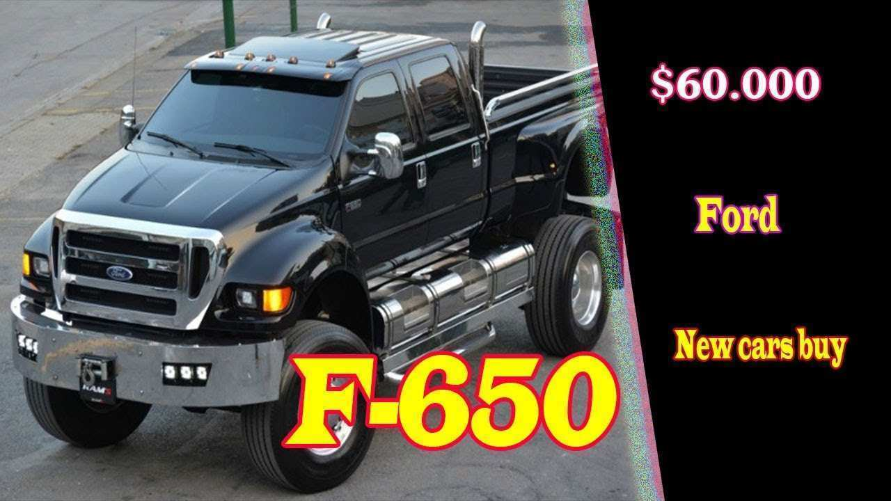 77 The Best 2020 Ford F650 Performance