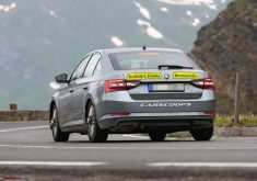 Spy Shots Skoda Superb