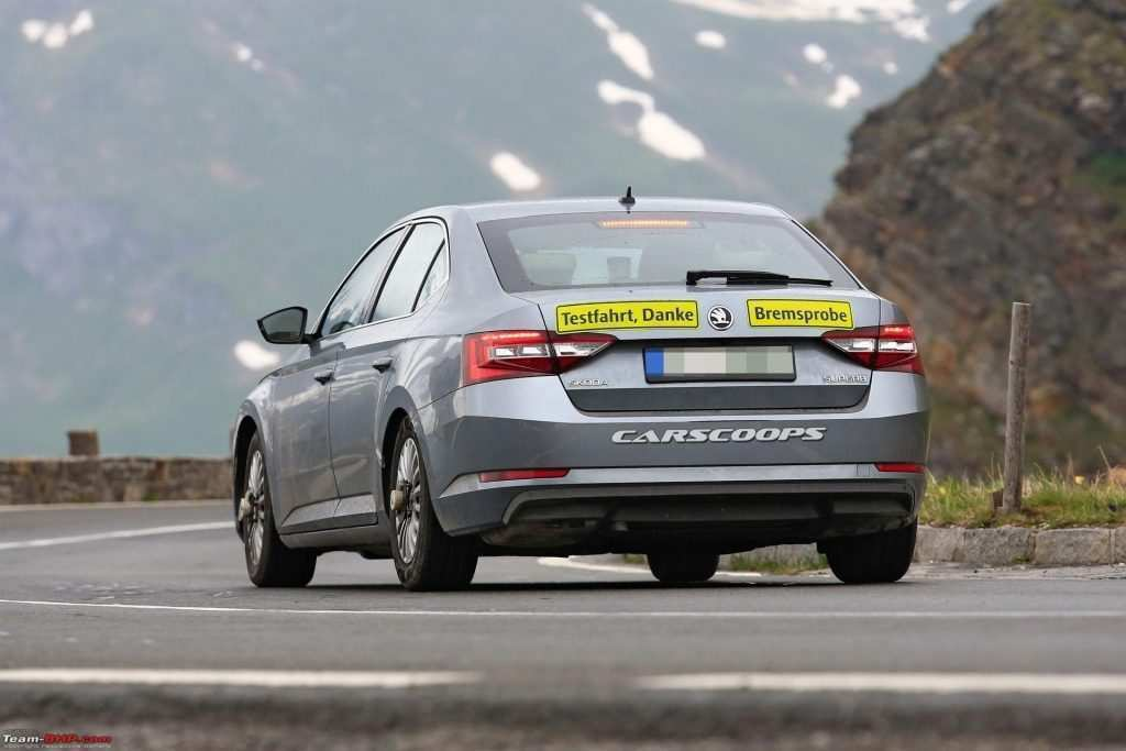 77 The Best Spy Shots Skoda Superb Specs and Review
