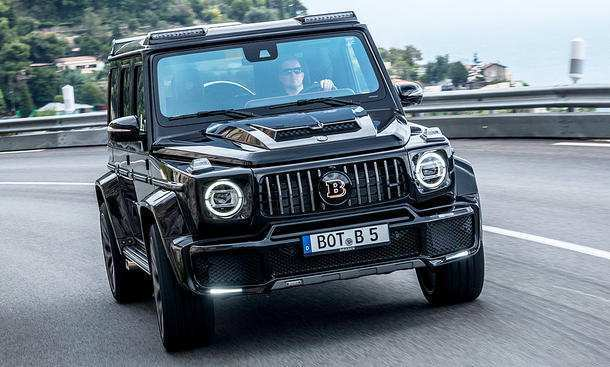 77 The Mercedes Brabus 2019 Images