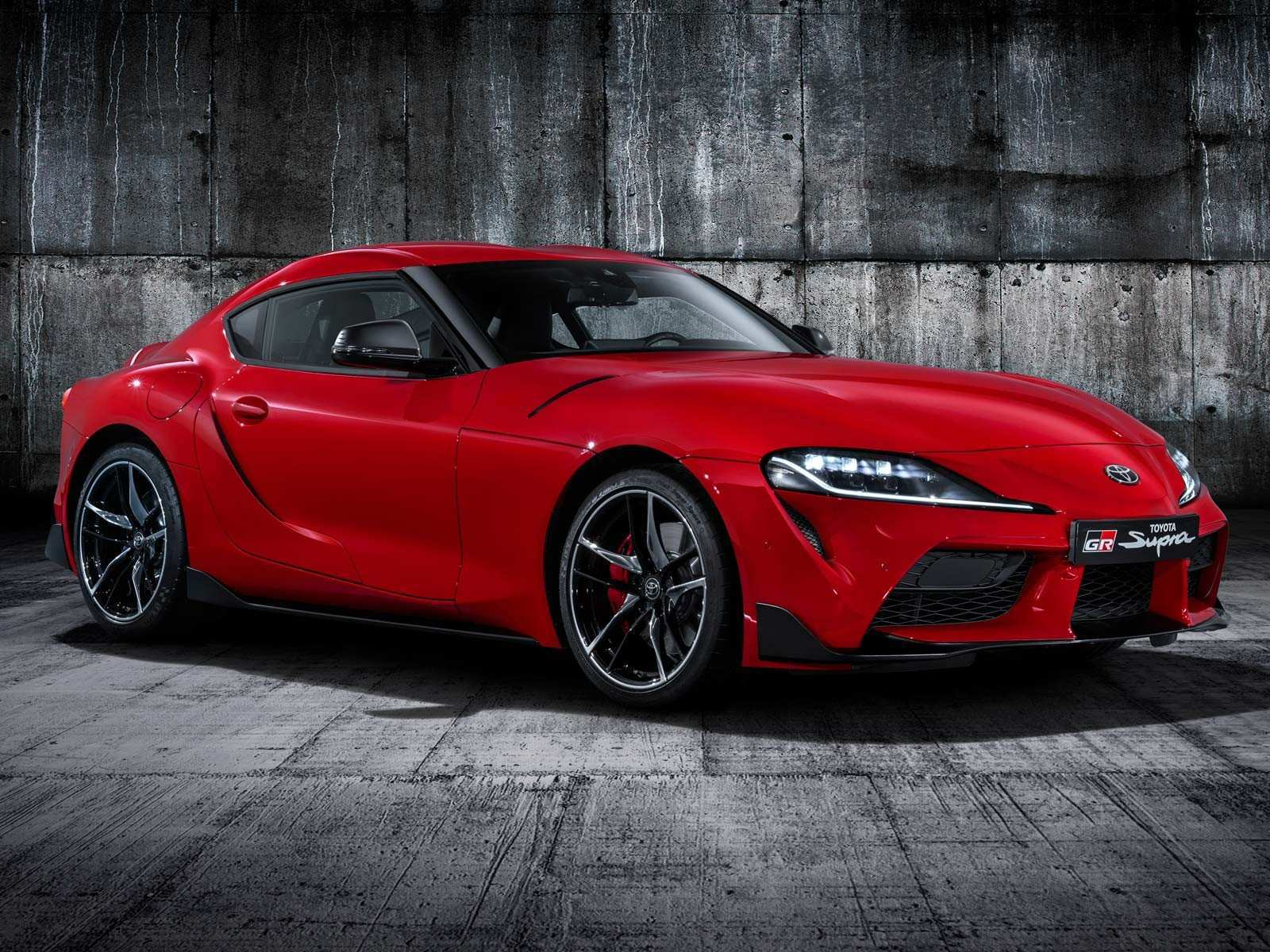 77 The Toyota Supra 2019 Interior