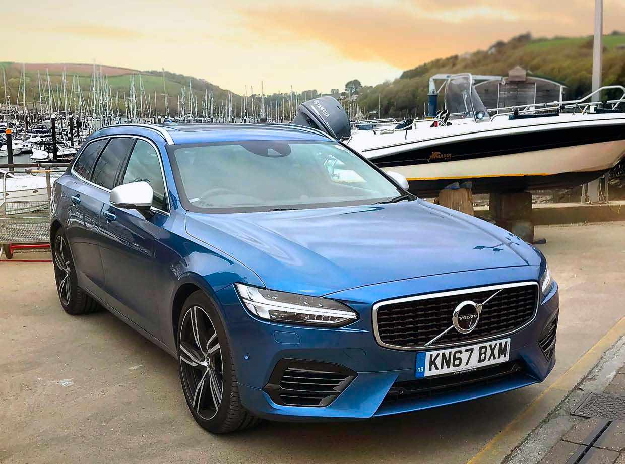 77 The V90 Volvo 2019 Speed Test
