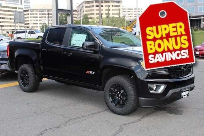 78 A 2019 Chevy Colorado First Drive