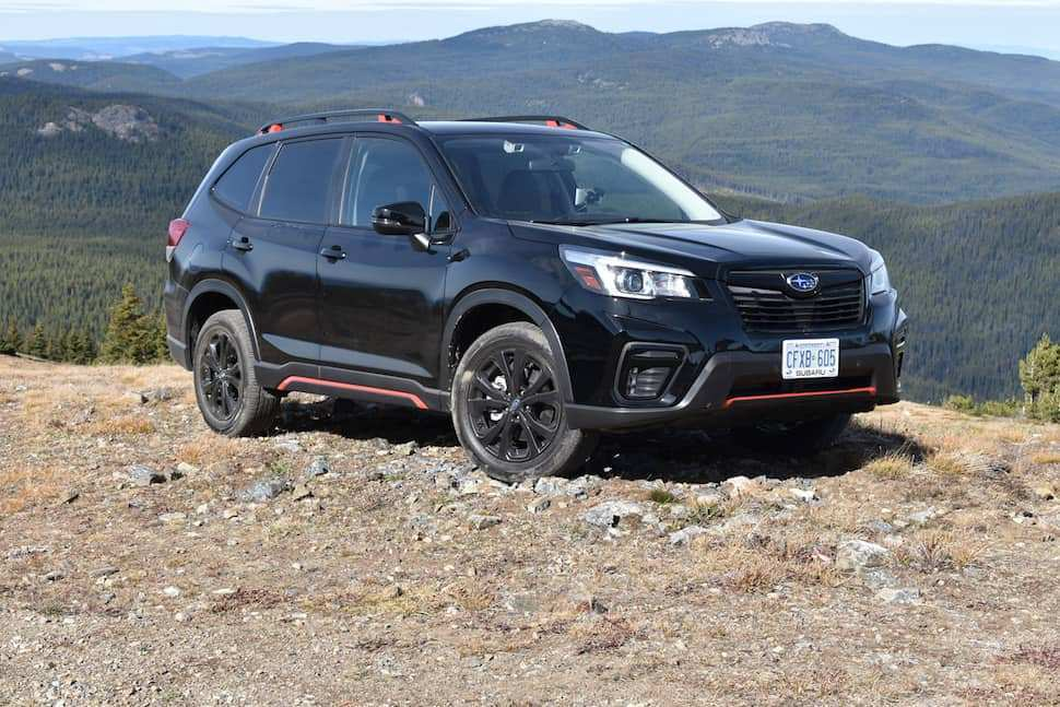 78 A 2019 Subaru Forester Sport Review