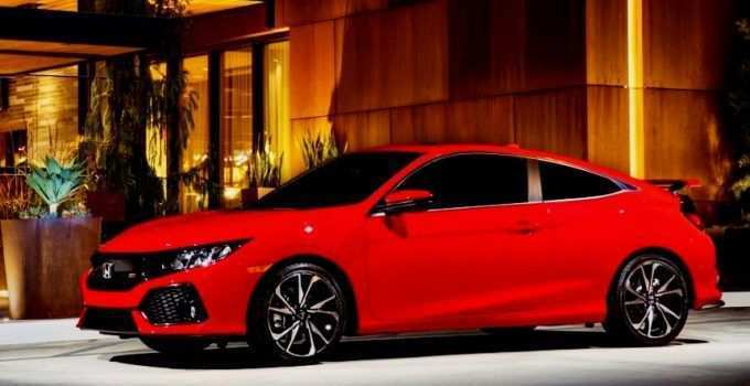78 A 2020 Honda Civic Coupe Model