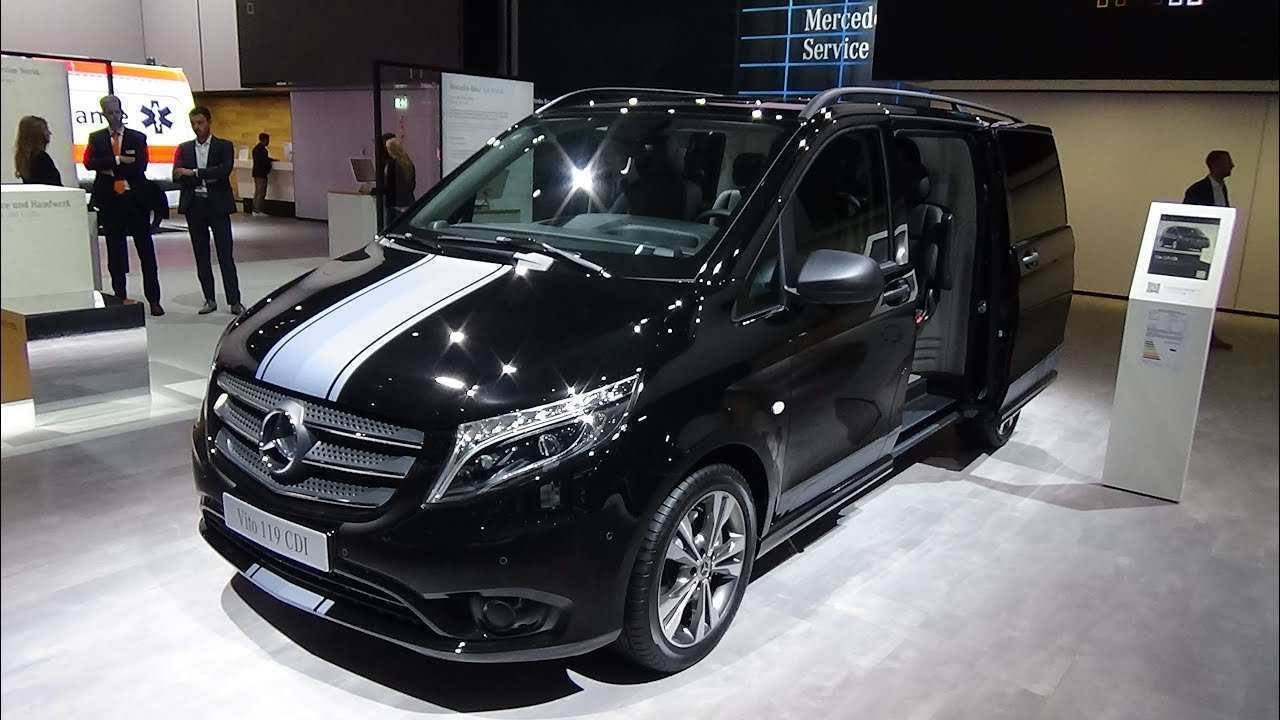 78 A Mercedes Vito 2019 Spy Shoot
