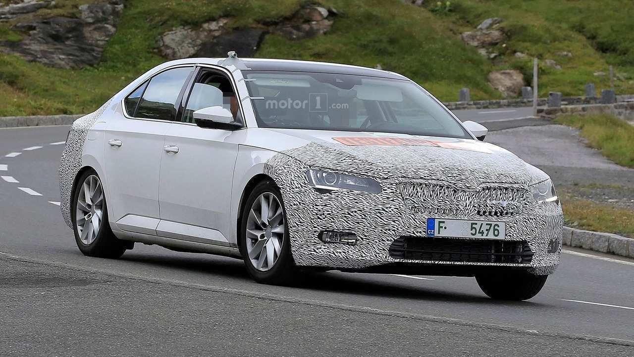 78 A Spy Shots Skoda Superb Price Design And Review