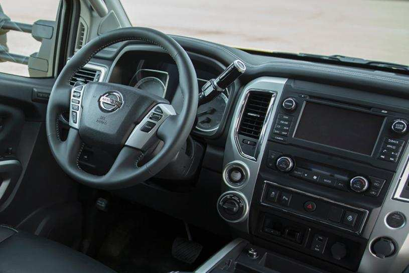 78 All New 2019 Nissan Titan Interior New Model And Performance