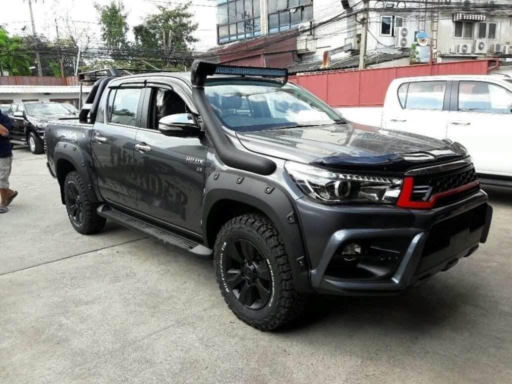 78 All New 2019 Toyota Hilux Spy Shots Specs And Review