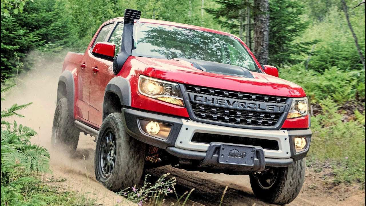 78 All New 2020 Chevrolet Colorado Z72 Concept And Review