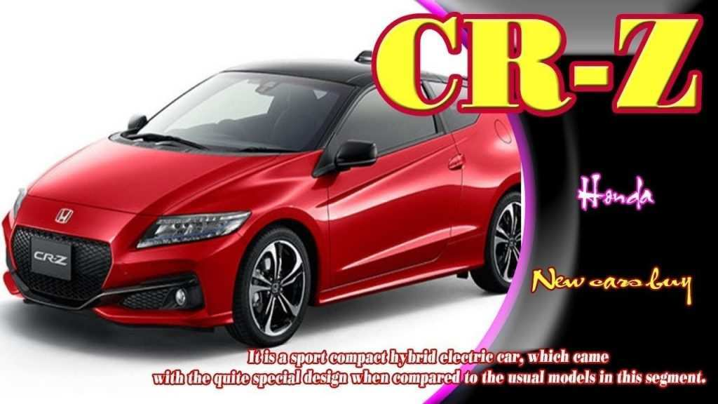 78 All New 2020 Honda Crz New Model And Performance