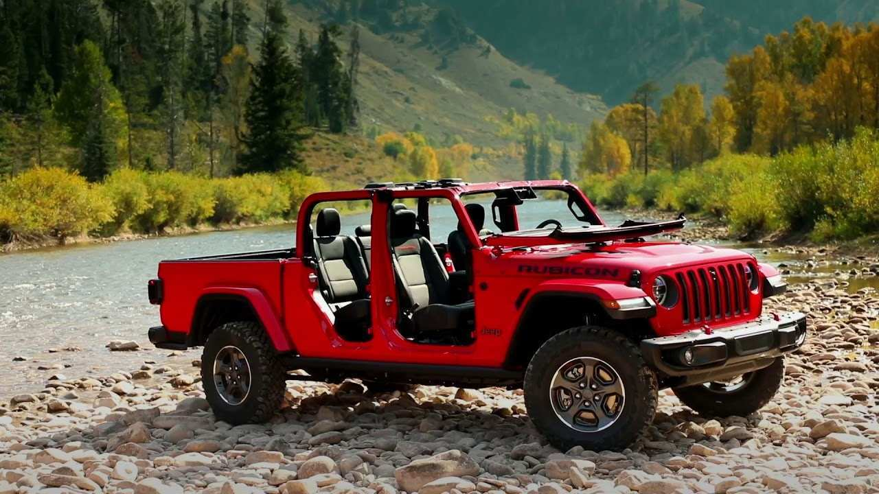78 All New 2020 Jeep Gladiator New Review