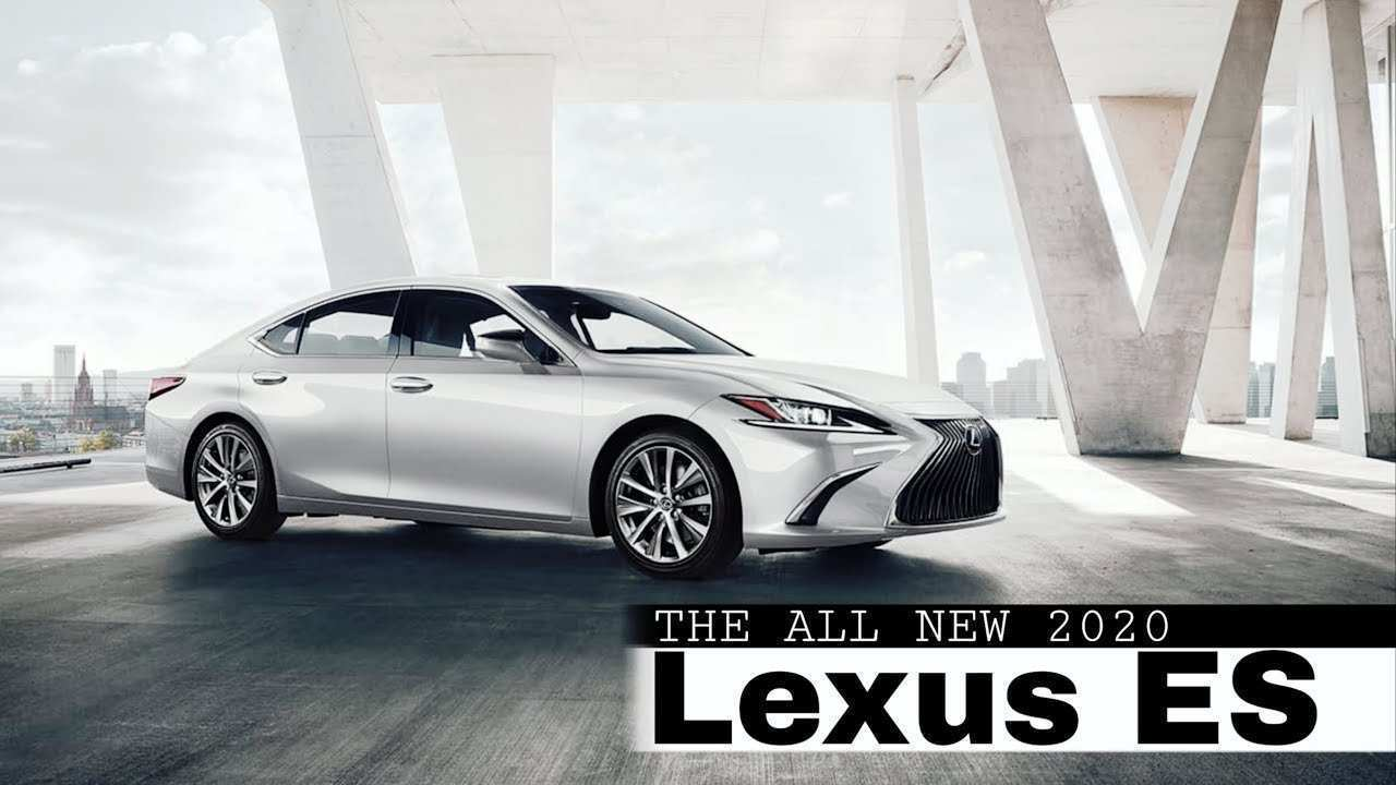 78 All New 2020 Lexus ES Price And Release Date