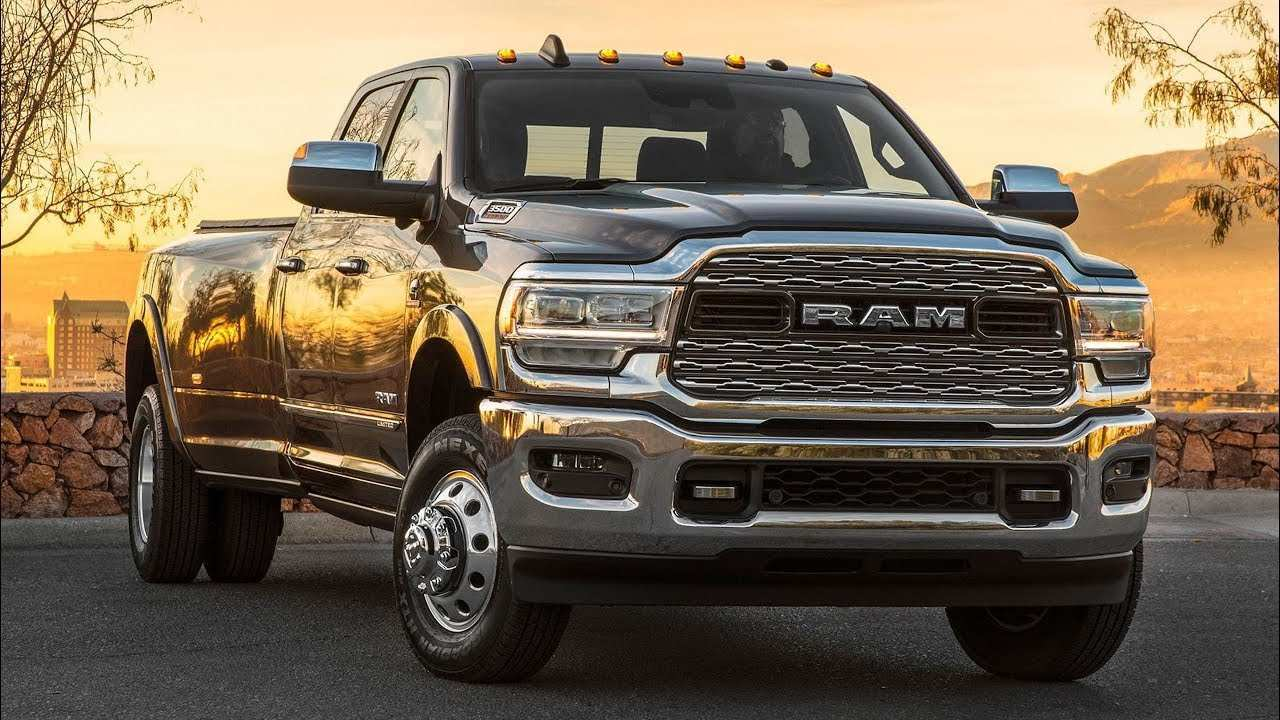 78 All New 2020 Ram 3500 Diesel Exterior And Interior
