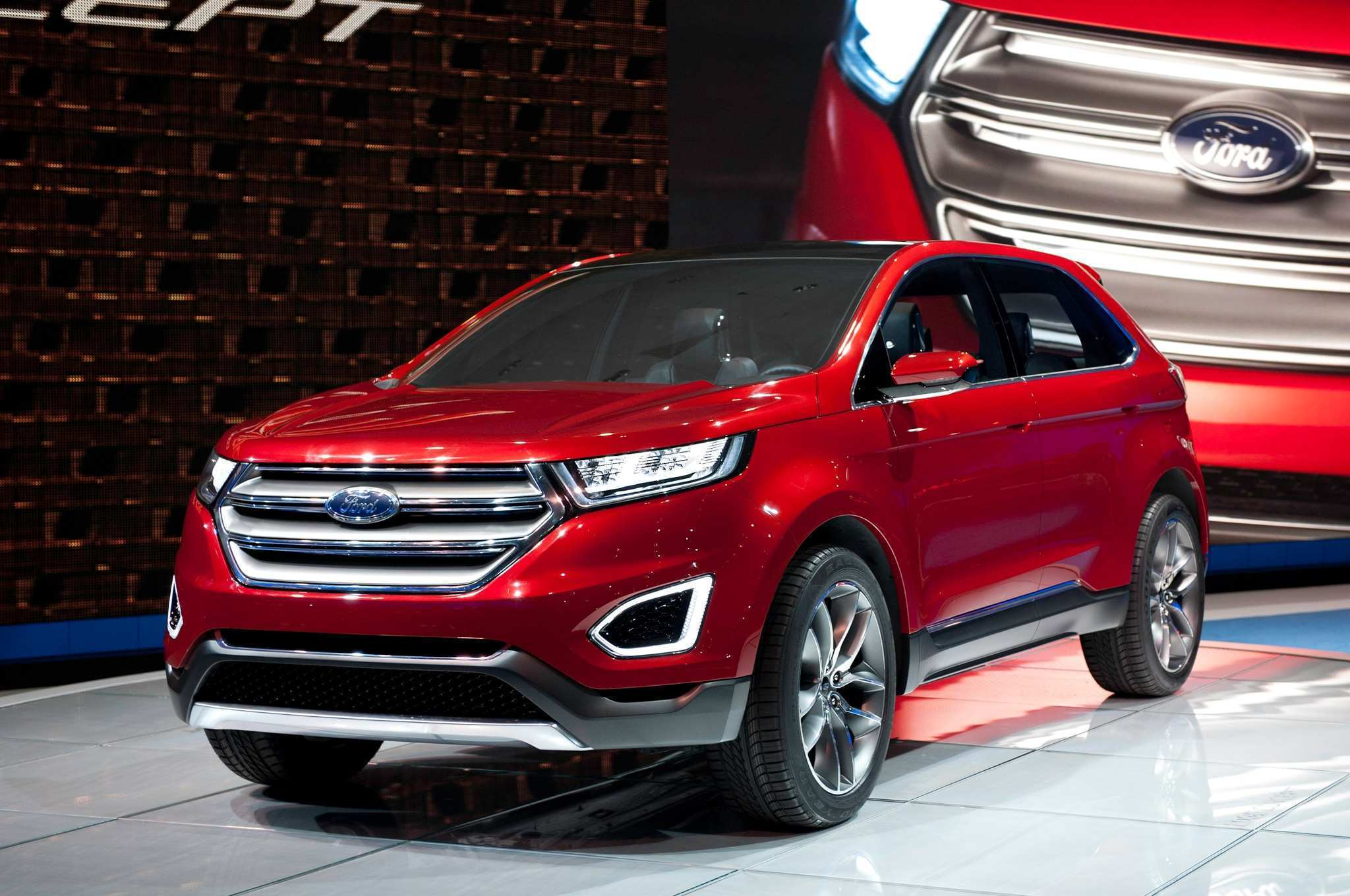 78 All New Ford Edge New Design New Review
