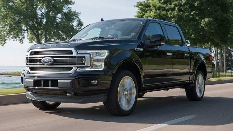 78 All New Ford F150 Redesign 2020 Spy Shoot