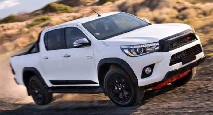 78 New 2019 Toyota Hilux Spy Shots Concept And Review
