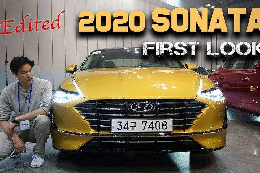 78 New 2020 Hyundai Sonata Yellow Spy Shoot