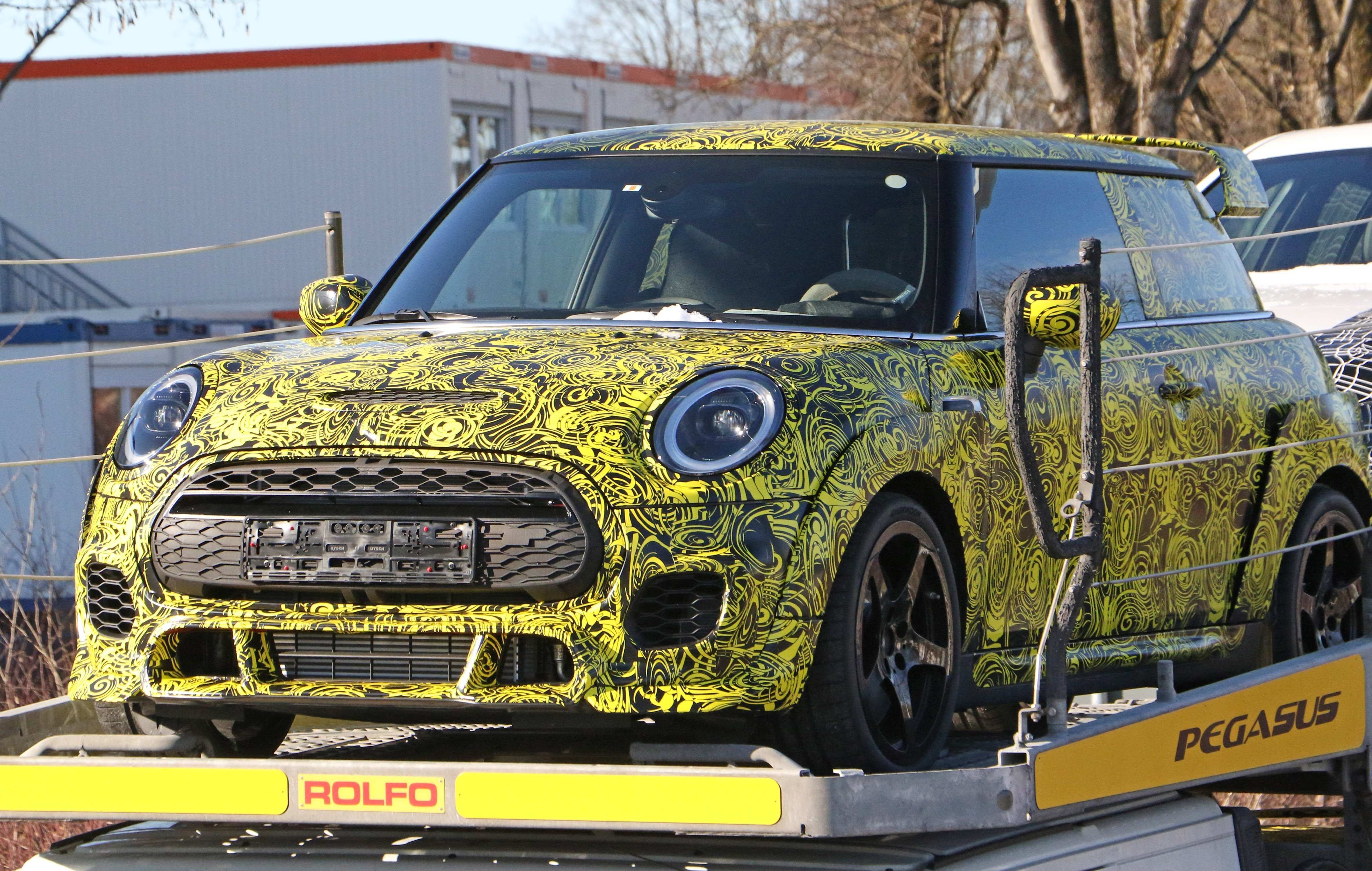 78 New 2020 Spy Shots Mini Countryman Engine