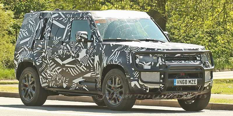 78 New Jaguar Land Rover Defender 2020 Engine