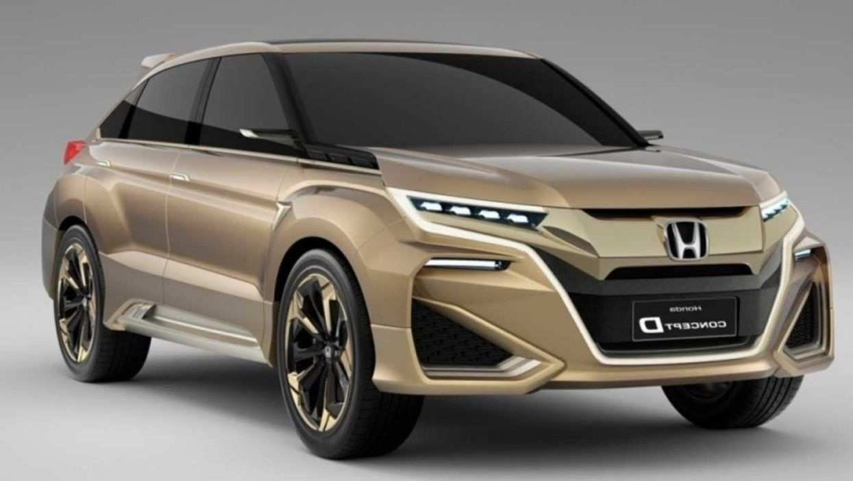 78 The 2019 Honda Crosstour New Model And Performance