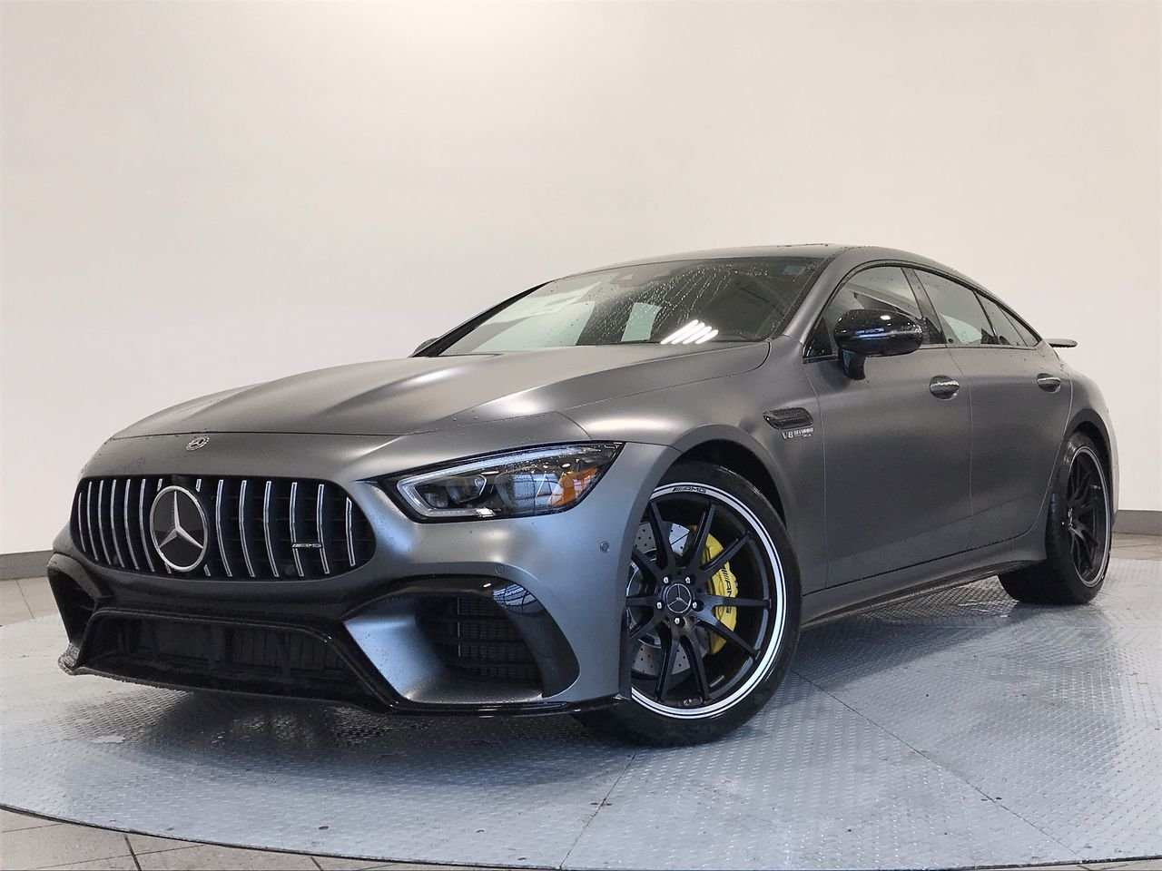 78 The 2019 Mercedes AMG GT Engine
