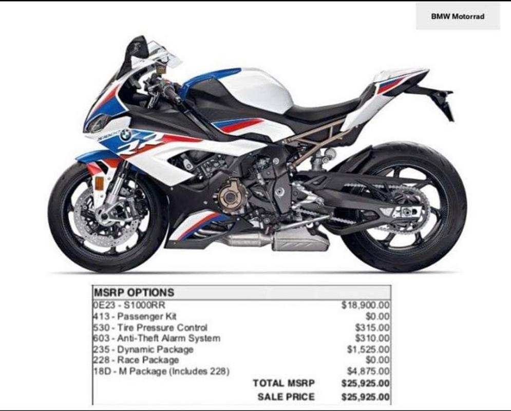78 The 2020 BMW S1000Rr First Drive