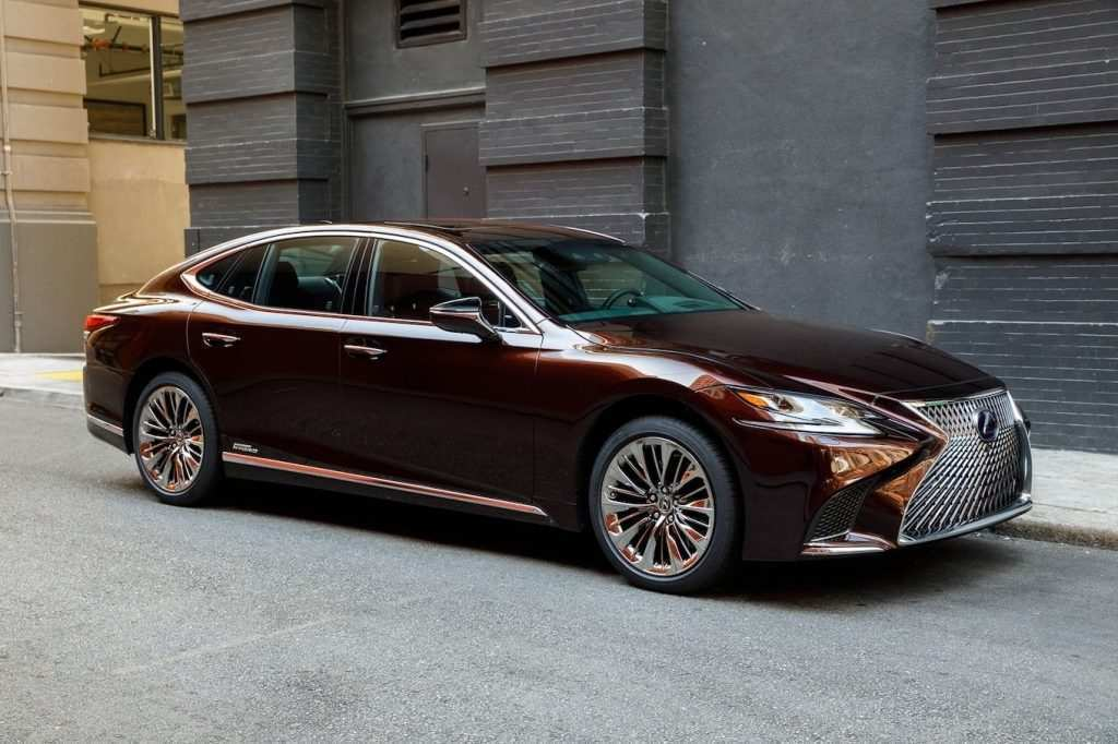 78 The 2020 Lexus LSs Photos