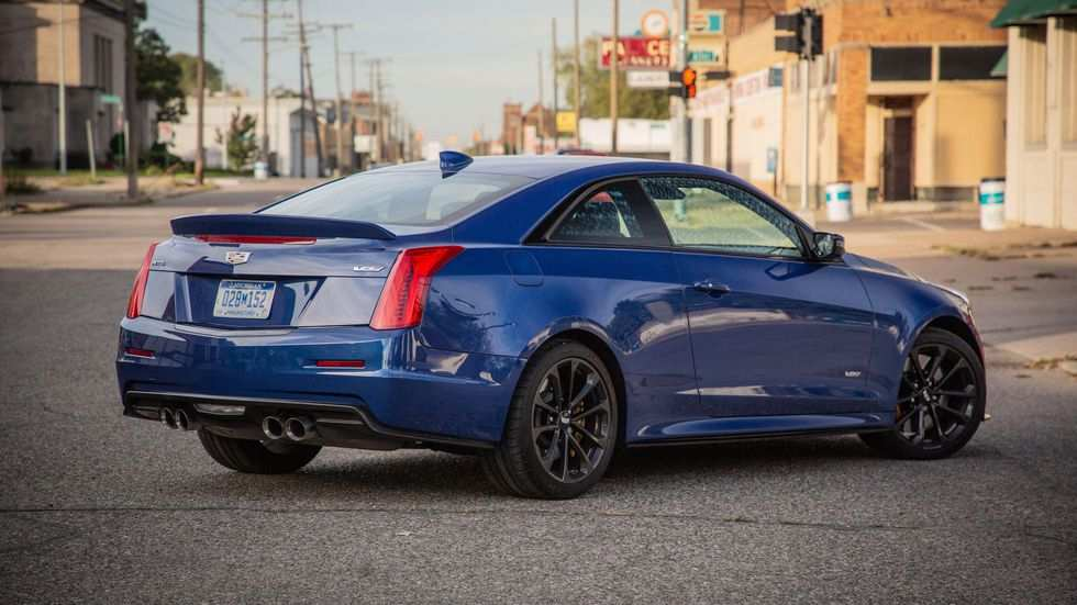 78 The Best 2019 Cadillac Ats V Coupe Exterior And Interior