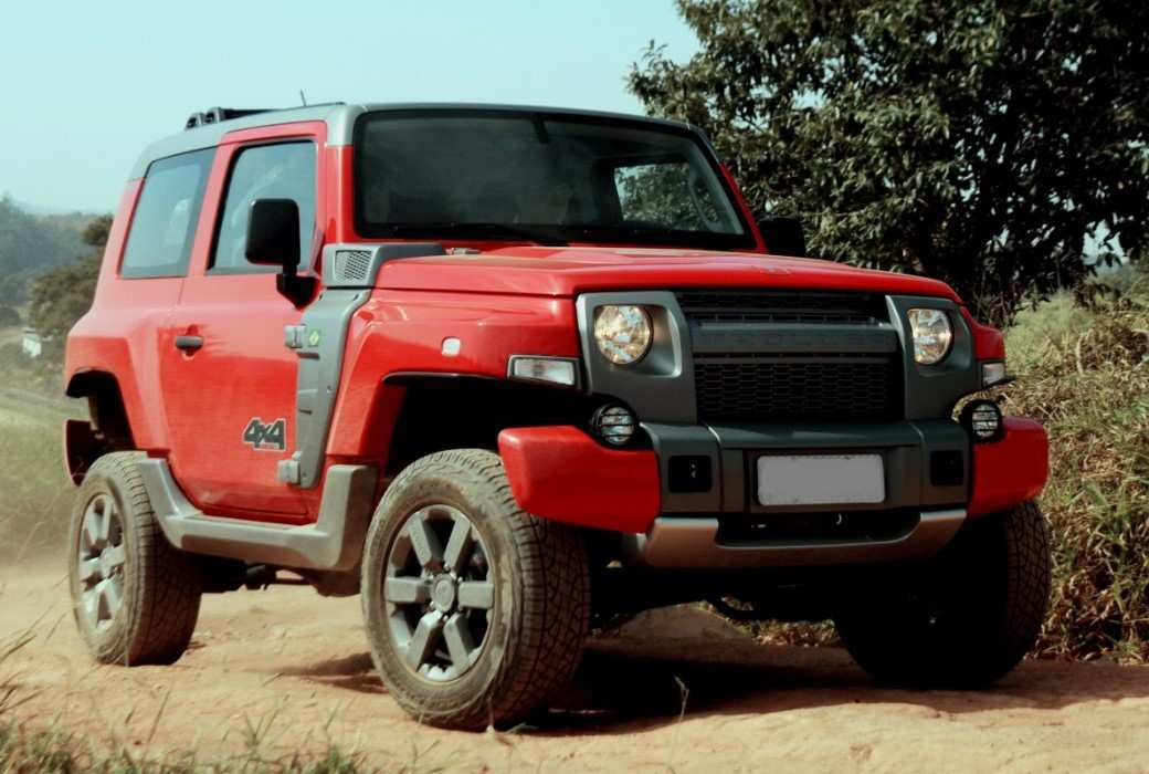78 The Best 2020 Ford Troller T4 Concept