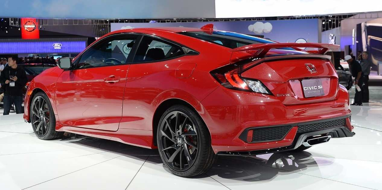 78 The Best 2020 Honda Civic Si Redesign And Concept