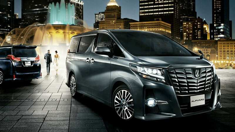 79 A 2019 Toyota Alphard Redesign And Concept