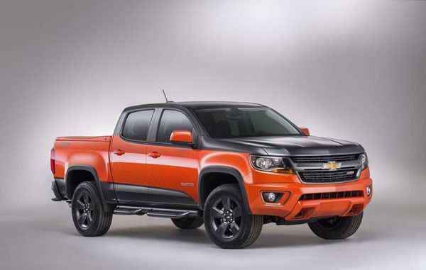 79 A 2020 Chevy Colorado Model