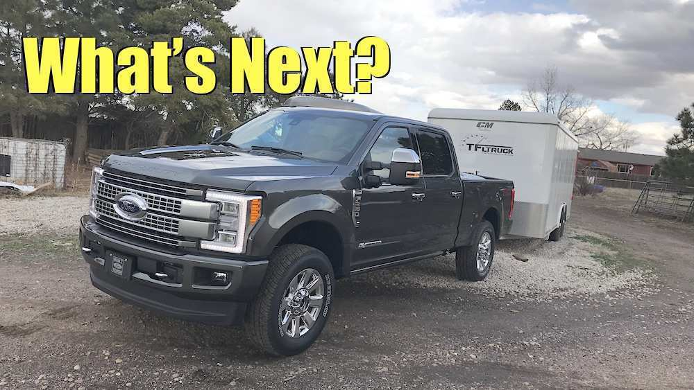 79 A 2020 Ford Super Duty Configurations